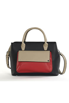 Sac esprit color block