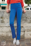 "Pantalon slim effet ""ventre plat"" Perfect Fit by damart®"
